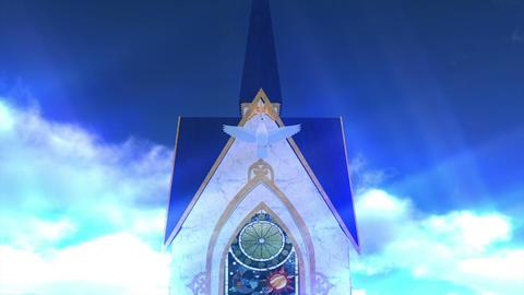 Wedding Chapel Stock Video Footage