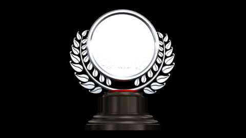 Medal Prize Trophy A HD Stock Video Footage