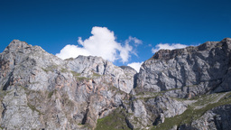 4k picos de europa fuente de timelapse mountains spain spectacular summer Footage