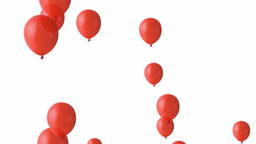 Party balloons loop version Animation
