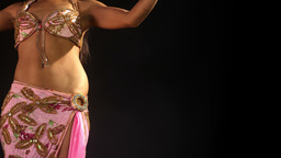 oriental belly dancer female music culture eastern Footage