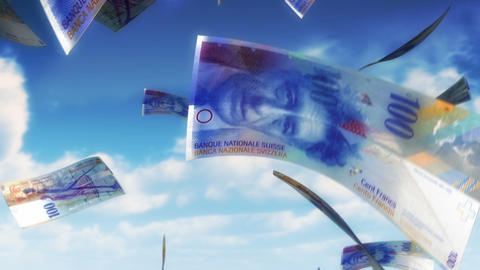 Money from Heaven - CHF (Loop) Animation