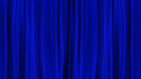 Blue Curtains Open, Alpha channel, PNG+Alpha Animation