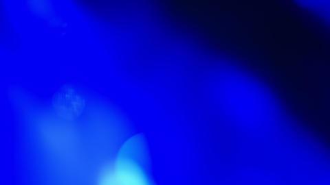 Defocused blue light abstract background Footage
