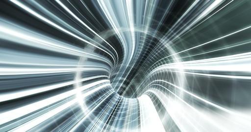 4K Digital Tunnel V2 Animation