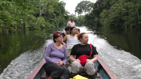 Cuyabeno wildlife reserve trip Footage