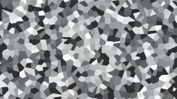 large irregular shape pattern background white fast Animation