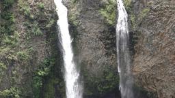 Manto De La Novia Waterfall stock footage
