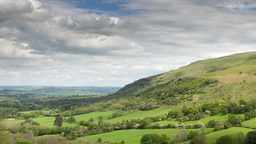 brecon beacons wales timelapse field countryside Footage
