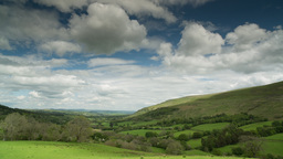 brecon beacons wales field countryside Footage