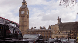 big ben london uk traffic Footage