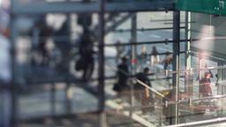 bonn airport passengers boarding Footage