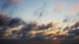 sunset menorca sky clouds moody weather Footage