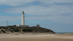 lighthouse beach, andalusia spain Footage