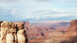 rock structures at canyonlands utah usa Footage