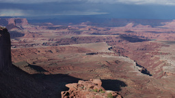 rock structures at canyonlands utah usa Footage