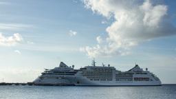 caribbean cruise ship Footage