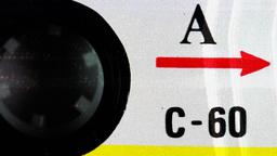 cassette rewind audio music tape hifi sound vintage Footage