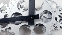 clock face dials cogs time watch Footage