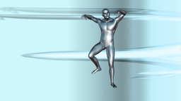 Chrome Boy Dancing Animation