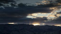 death valley sunset california Footage