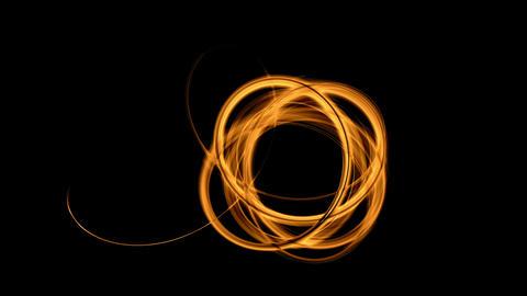 Knot, Fiery Thread Animation