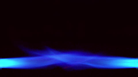 10643 overlapping gas flame background loop Stock Video Footage