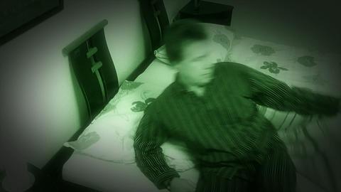 10648 sleepless sleep night camera time lapse close Stock Video Footage