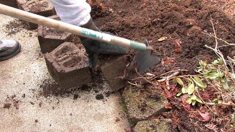 A Senior Gardening Stock Video Footage
