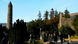 Roundtower Glendalough Footage