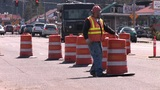 Road Work Footage