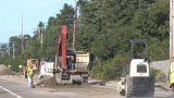 Road Work Footage