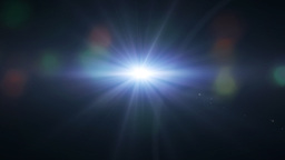lens flare background Stock Video Footage