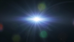 lens flare background Animation