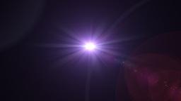 purple flare rotate Stock Video Footage