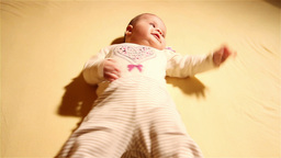 Baby 06 happy Stock Video Footage