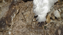 Snow thawing Stock Video Footage