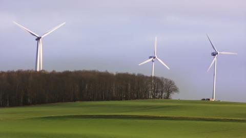 Windmills 2 HD1080p Stock Video Footage