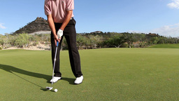 golf putt mexico luxury Footage