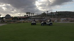 golf car mexico luxury Footage