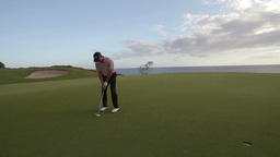 golf putting green mexico luxury Footage