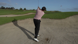 golf bunker swing mexico luxury Footage