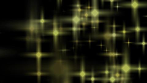 レンズフレア 星 トランジション stock footage