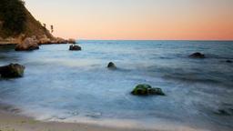 karadere beach bulgaria nature coast sea beach Footage