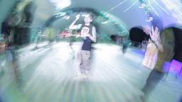 kazantip dancefloor event party music disoc crowd Footage