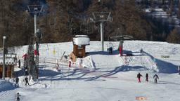 ski french alps Footage