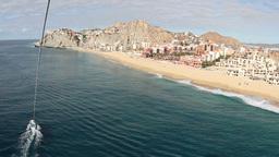 el arco los cabos lands end beach baja california sur Footage