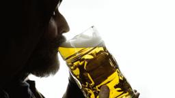 Beer silhouette big heaven Footage