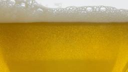 Beer splash white yellow timelapse Footage