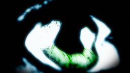 Eye nightmare emerald searching Footage